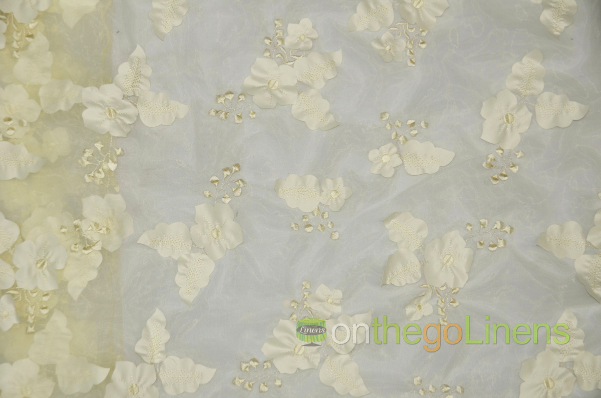 Applique Organza Yards