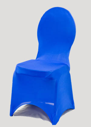 Royal Blue Spandex Chair Cover Ballroom Banquet Chair Covers