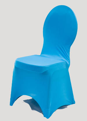 Turquoise Spandex Chair Cover Ballroom Banquet Chair Covers