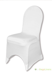 White Spandex Chair Cover Ballroom Banquet Chair Covers